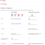 google-adsettings